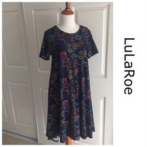 LuLaRoe Bird Print Dress XS